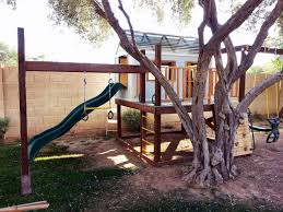 Backyard Swing Plans by Ana White Play Structure U0026 Swing Set Diy Projects
