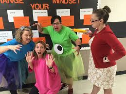 Monsters Inc Costumes The Best Ever Grade Level Costumes For Teachers The Tpt Blog