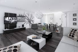 livingroom design stunning black wooden floor design with charming dining table sets