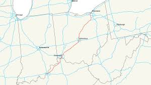 Southern Ohio Map by Interstate 71 Wikipedia