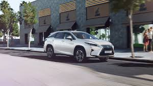 matte black lexus rx 350 2018 lexus rx l models the power of three lexus europe