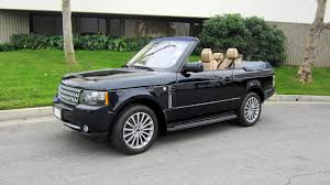 land rover sport custom range rover 2 door convertible s