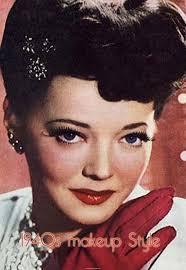 Hair Makeup 1940s Makeup Styles Vintage Makeup Guide