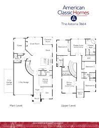 3 Car Garage Floor Plans Astoria Seattle Wa New Homes American Classic Homes
