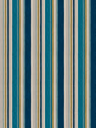 Striped Upholstery Fabric Peach And Teal Stripes Curtain Fabric By The Yard Upholstery