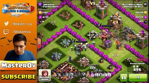 clash of clans all troops awesome clash of clans all dark troops is epic best attack
