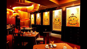 best asian restaurant design ideas with chinese distric style to