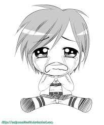 chibi crying eren sketch by sakuraalice33 on deviantart