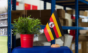Uganda Flag Colours Table Flag Uganda 6x9