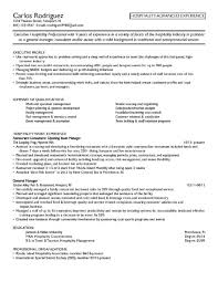 Sample Resume For Hotel Management by 100 Sap Fresher Resume Sample Sap Mm Fresher Resume Format