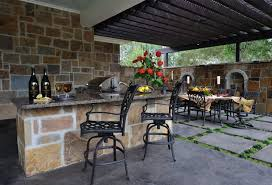 Outdoor Kitchen Countertops Ideas Furniture Outdoor Kitchen Ideas 2294 Hostelgarden Net