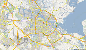 Amsterdam Map Europe by Amsterdam Map