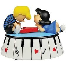 piano cake topper schroeder piano peanuts cake topper wedding collectibles