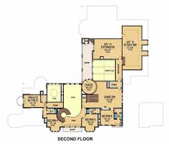 cuore di leone french country house plan luxury floor plan
