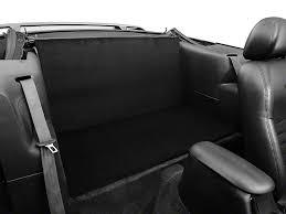 fox mustang seats alterum mustang rear seat delete black 388914 94 04 convertible