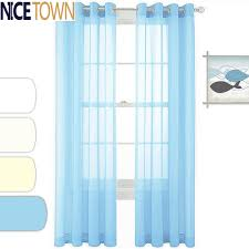 aliexpress com buy ready made window treatment pair of solid