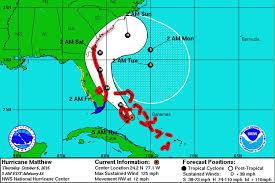 Map Of Gainesville Fl Hurricane Matthew To Rake Coast Pummel Area With High Wind News