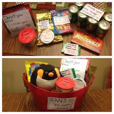 s gift for him made this feel better basket for my wonderful boyfriend after