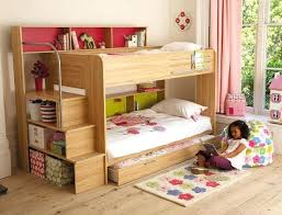 cool bunk bed storage stairs and living bedroom good looking kids