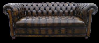 canapé cuir chesterfield canapé chesterfield lit 3 places marron patiné longfield 1880
