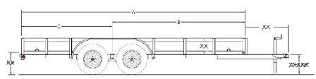 1 trailer plans 7x12 low deck tandem utility trailer plans