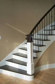 Iron Banisters And Railings Best 25 Painted Stair Railings Ideas On Pinterest Railings