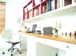 custom built office desk office desk with bookcase and shelving