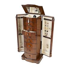 Kids Jewelry Armoire Furniture Best Wood Storage Material Design For Jewelry Armoire