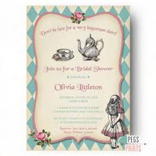 bridal tea party invitation bridal high tea invitation printable from peg s prints