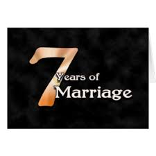 7th year wedding anniversary 7th year anniversary gifts on zazzle