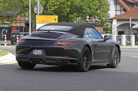 Porsche 911 Gts - 2018 porsche 911 gts with turbocharging latest spy shots gtspirit
