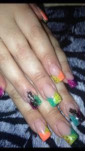 sculpted colors acrylic nails sara u0027s nail designs pinterest