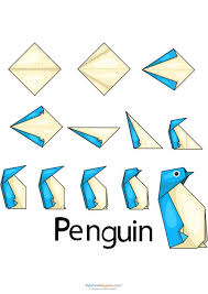 how to make simple origami animals easy origami penguin origami