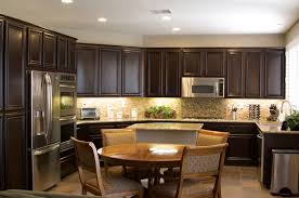 Kitchen Cabinets Restaining Picturesque Restaining Kitchen Cabinets And Countertops