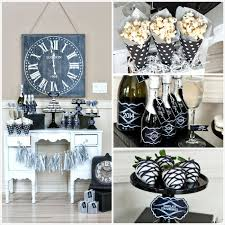 Black And White New Years Eve Party Decorations by Kara U0027s Party Ideas