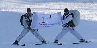 South Korea Flag North And South Korea To March Under A Unified Flag At The Winter