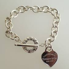 tiffany heart silver bracelet images Tiffany co quot return to tiffany quot heart tag toggle silver jpg
