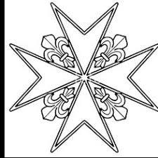 open maltese cross pendant in sterling silver 4 the templar