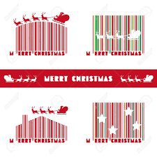 Barcode Designs For Merry Barcode Design Royalty Free Cliparts Vectors And