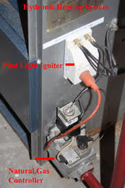 where is the pilot light on a gas oven hydronic system polit light not lighting