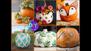 fall pumpkin decoration 50 creative pumpkin decorating ideas diy fall decor 2017 youtube