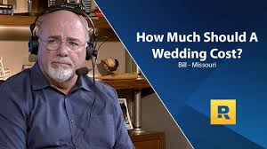 How Much Money Do You Give For A Wedding How Much Should A Wedding Cost Youtube