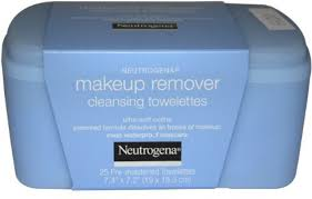 neutrogena makeup remover cleansing towelettes refill pack 25