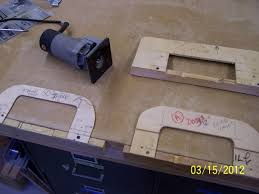 porter cable door hinge template router plate for a hinge template woodworking talk