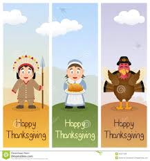 thanksgiving day vertical banners 1 stock vector image 45347429