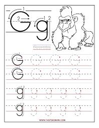 letter g worksheets gplusnick