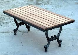 panchine da giardino in ghisa base tavolo da giardino terrazzo e cucina in ghisa con piano in