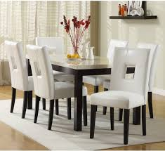 White Dining Room Furniture Best  White Dining Rooms Ideas On - White leather dining room set