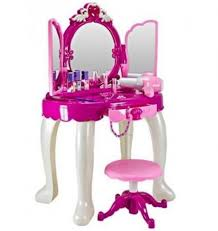 Girls Vanity Table And Stool Table Excellent Furniture White And Pink Kids Makeup Table With