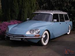 vintage citroen ds citroen ds safari 1974 blue station wagon